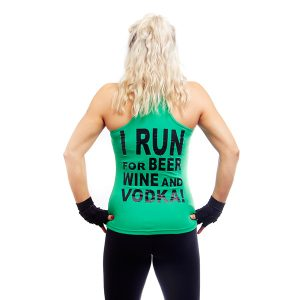 I RUN FOR BEER, WINE & VODKA-1