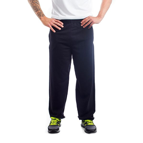PLAIN BLACK JOG PANTS-1